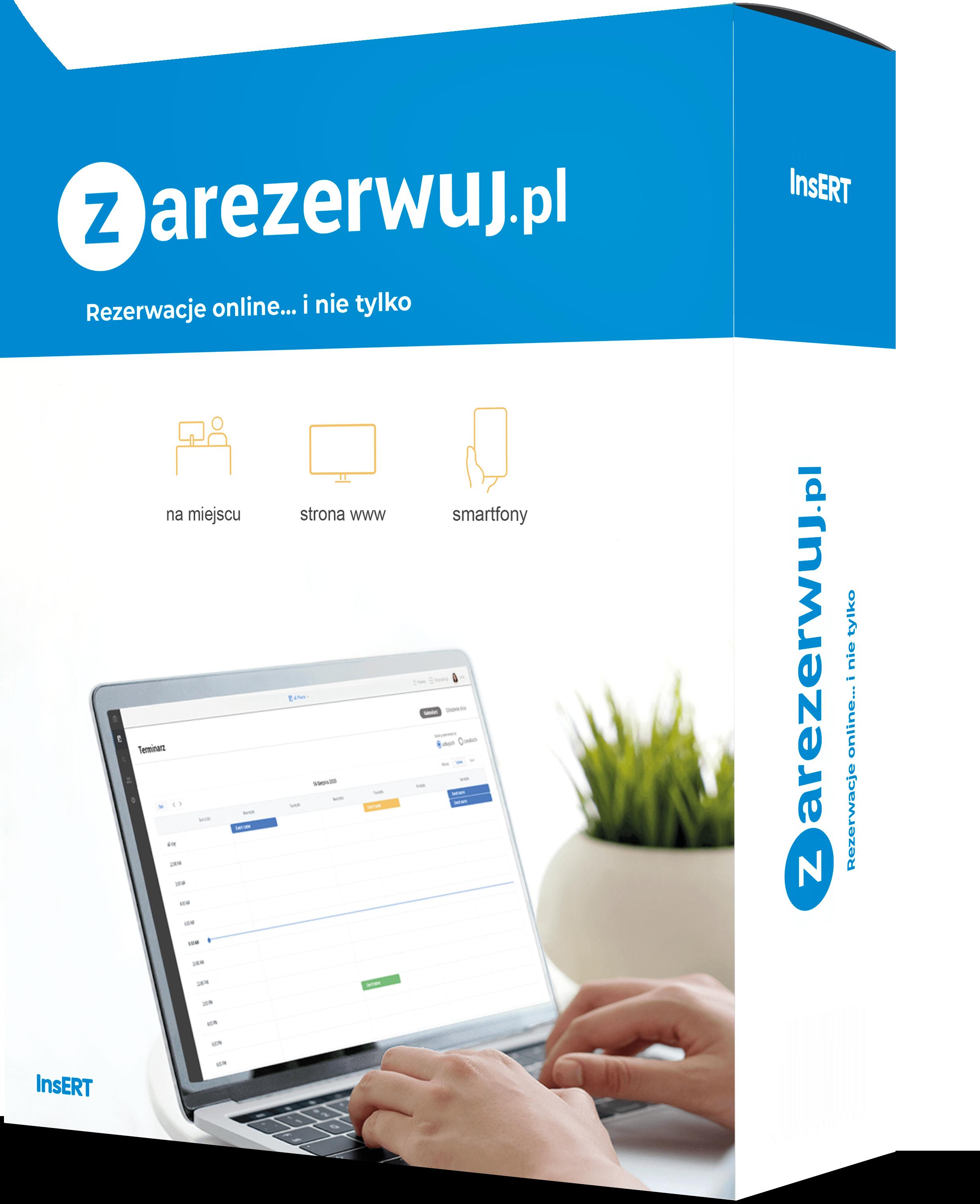 Zarezerwuj.pl: Rezerwacje i rejestracje - szybko, intuicyjnie i niezawodnie
